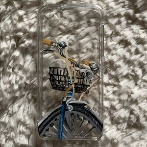 Hand Painted Iphone SE/5/5s Clear Phone Case